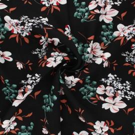 Rayon fabric - black Ronda x 10cm