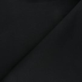 Plain polycotton canvas fabric - black x 10cm