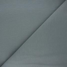 Plain polycotton canvas fabric - steel grey x 10cm