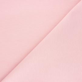 Plain polycotton canvas fabric - light pink x 10cm