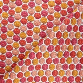 Cretonne cotton fabric - white St Jacques x 10cm