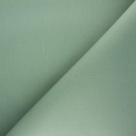Tissu toile transat Playa uni - eucalyptus x 10cm