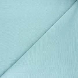 Plain polycotton canvas fabric - celadon blue x 10cm