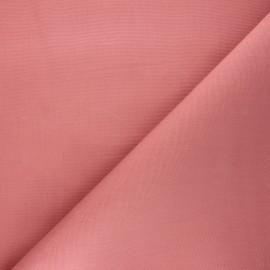 Tissu toile transat Playa uni - vieux rose x 10cm