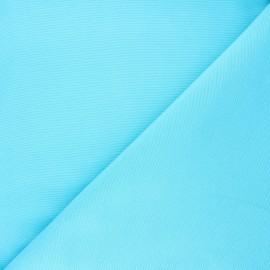 Plain polycotton canvas fabric - turquoise x 10cm