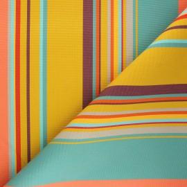 Tissu toile plein air Dralon® Calvi (320cm) - miel x 10cm