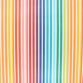 Coated sunny outdoor canvas fabric - multicolor Fréjus x 10cm