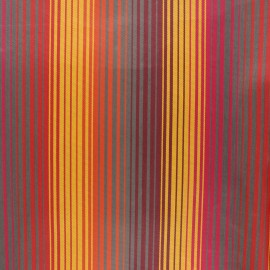 Coated sunny outdoor canvas fabric - yellow Bandol x 10cm