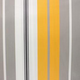 Coated sunny outdoor canvas fabric - yellow Bonifacio x 10cm