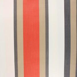 Coated sunny outdoor canvas fabric - orange Tango x 10cm