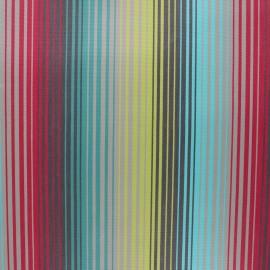 Tissu toile extérieur enduit Sunny Bandol - turquoise x 10cm