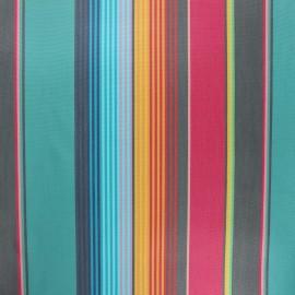 Tissu toile extérieur enduit Sunny Sydney - lagon x 10cm