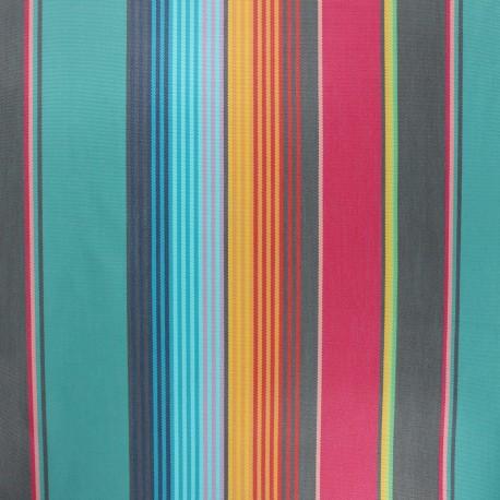 Coated sunny outdoor canvas fabric - lagoon Sydney x 10cm