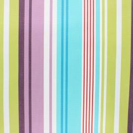 Tissu toile extérieur enduit Sunny Lavandou - turquoise x 10cm