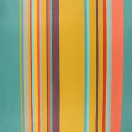 Tissu toile extérieur enduit Sunny Calvi - miel x 10cm