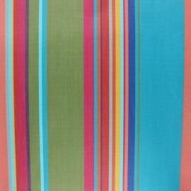 Tissu toile extérieur enduit Sunny Calvi - topaze x 10cm