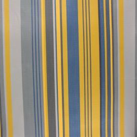 Coated sunny outdoor canvas fabric - ochre Collioure x 10cm