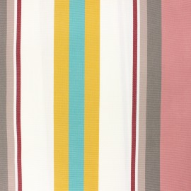 Coated sunny outdoor canvas fabric - pink Mentoue x 10cm