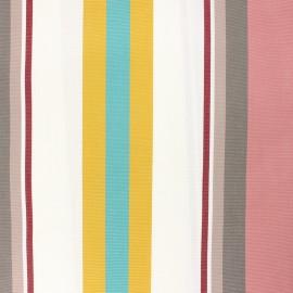 Tissu toile extérieur enduit Sunny Mentoue - rose x 10cm