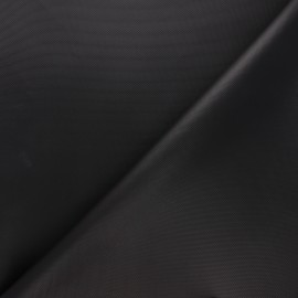 Tissu toile polyester imperméable - noir x 10cm