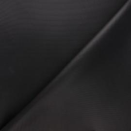 Waterproof polyester canvas fabric - black x 10cm