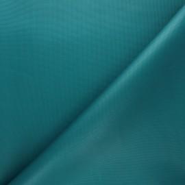 Tissu toile polyester imperméable - vert émeraude x 10cm
