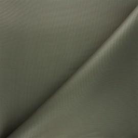Tissu toile polyester imperméable - kaki x 10cm