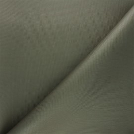Waterproof polyester canvas fabric - khaki x 10cm