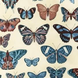 Tissu Field Notes Papillons Vintage x 10cm