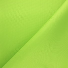 Waterproof polyester canvas fabric - anise green x 10cm