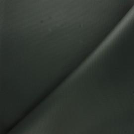 Tissu toile polyester imperméable - kaki foncé x 10cm