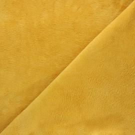 Tissu Micro-éponge Bambou - miel x 10cm