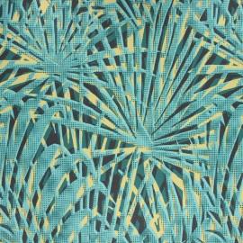 Dralon® outdoor canvas fabric - green Papyrus x 10cm