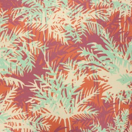 Dralon® outdoor canvas fabric - rust Canope x 10cm