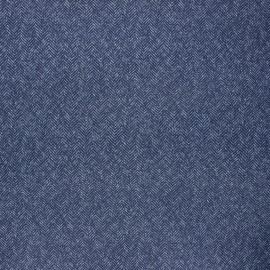 Tissu toile transat Dralon® Chevron - bleu marine x 10cm
