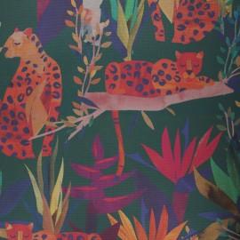 Dralon® outdoor canvas fabric - green Léo x 10cm