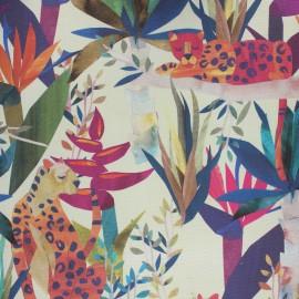 Dralon® outdoor canvas fabric - sand Léo x 10cm