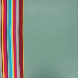 Tissu toile transat Playa Palavas - eucalyptus x 10cm