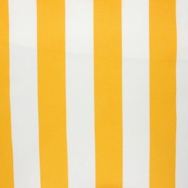 Tissu toile transat Playa Riviera - jaune x 10cm