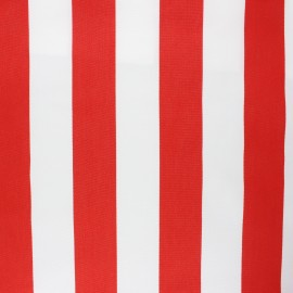 Playa outdoor canvas fabric - red Riviera x 10cm