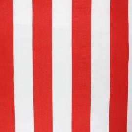 Tissu toile transat Playa Riviera - rouge x 10cm
