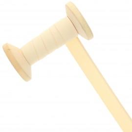 Ruban Talonnette 15 mm - vanille - Bobine de 25 m