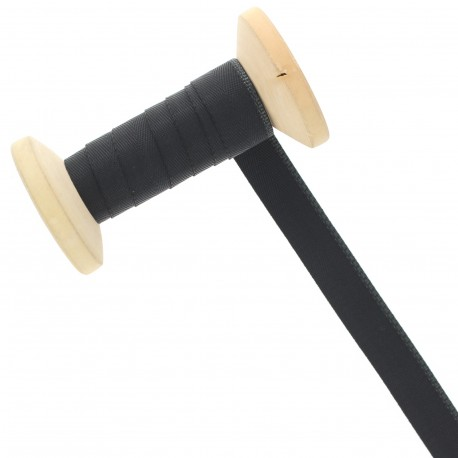 15 mm Seam Binding Ribbon Roll - Black