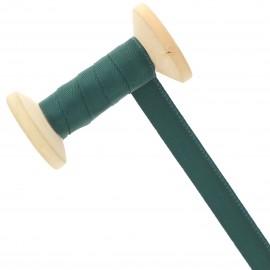 Ruban Talonnette 15 mm - vert sapin - Bobine de 25 m