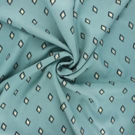 Radiance by Penelope® viscose fabric - sage green Catarina x 10cm