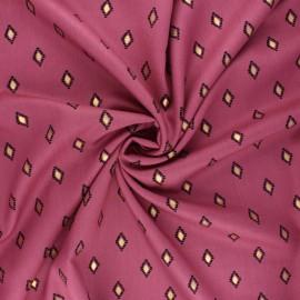 Radiance by Penelope® viscose fabric - fig Catarina x 10cm