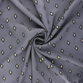 Radiance by Penelope® viscose fabric - mouse grey Catarina x 10cm