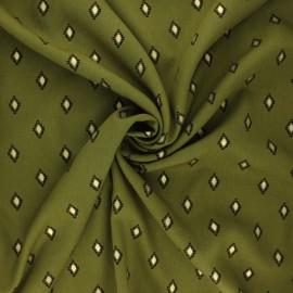 Radiance by Penelope® viscose fabric - khaki Catarina x 10cm