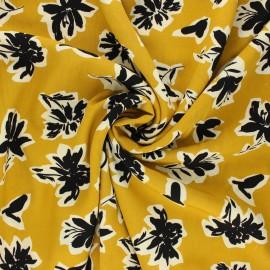Radiance by Penelope® viscose fabric - mustard yellow Isaura x 10cm
