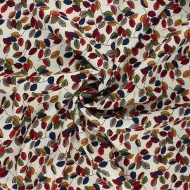 Viscose fabric - raw Folium x 10cm